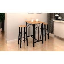 table haute avec tabouret pour cuisine lot avec une table haute de bar et 2 tabourets p achat vente