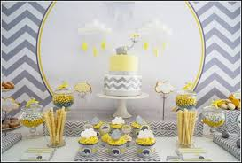 purple elephant baby shower decorations baby shower decorations yellow and gray yellow and grey elephant
