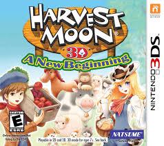 Harvest Moon by Amazon Com Harvest Moon 3d A New Beginning Nintendo 3ds Video
