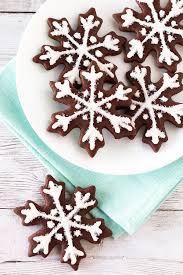 snowflake cookies gluten free vegan chocolate snowflake sugar cookies bakes
