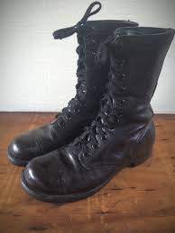 motorcycle footwear mens vintage 1960s military combat jump boots cap toe motorcycle boots
