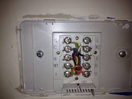 i am trying to install a new honeywell 6350d programmable