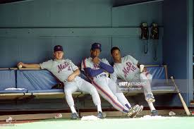 The Doc And Darryl Mets - new york mets pictures getty images