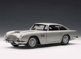 silver aston martin aston martin db5 diecast model car by autoart 70211
