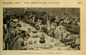 early 20th century thanksgiving in america photos illustrations