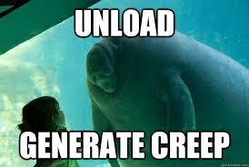 Generate All The Memes - unload generate creep overlord manatee quickmeme