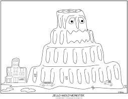 monster coloring pages s mac u0027s place to be
