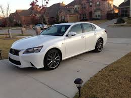 white lexus 2011 picked up a 2013 gs 350 f sport starfire pearl cabernet