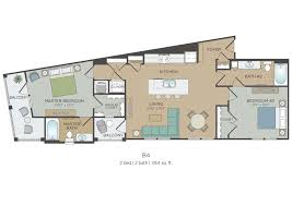Two Master Bedroom Floor Plans House Plan W3859 Detail From Drummondhouseplanscom Double Master