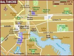 map us baltimore map of baltimore