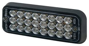 ecco led offroad lights ecco 3510 sae class i led light head surface mount