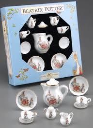 beatrix potter tea set reutter porcelain beatrix potter mini collector tea set