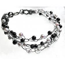 beaded wire bracelet images Crochet wire beaded bracelets jpg