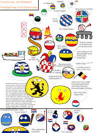 Map Of Netherlands Polenbal Map Of The Netherlands Polandball