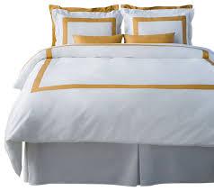 lacozi mustard and white duvet cover set modern duvet covers