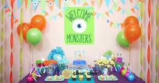 kara u0027s party ideas monsters themed birthday party ideas