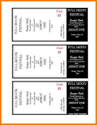 avery tickets template ticket stub template free ticket template 97 free word excel pdf