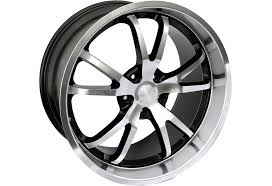 05 mustang wheels steeda mustang spyder wheel black w machined lip 20x9 5