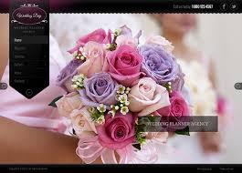 wedding planner website weddingday planner agency responsive template on behance