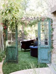 Country Garden Decor Old Door Garden Decor U2013 Home Design And Decorating