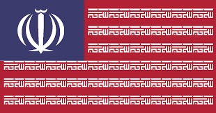 National Flag Iran Redesings Mashup Of Usa U0026 Iran Flags Album On Imgur