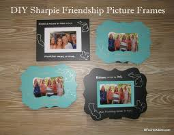 diy sharpie picture frame