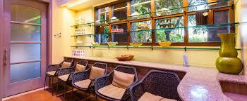 interior design hawaiian style painted sky teen spa