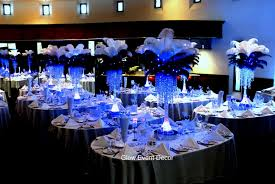 wedding table decorations feathers decorating of party
