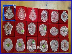 waterford 12 days of ornaments 1978 1995