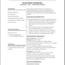 Resume Template 2014 Cover Letter Office Resume Template Office Resume Templates 2012