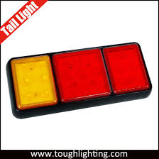 universal led tail lights china universal surface mount led truck tail lights with stop turn