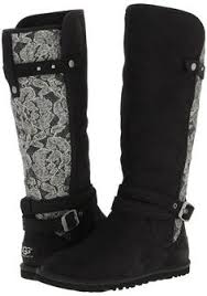 ugg s boots shopstyle ugg australia womans knee high marielle leather plaid