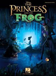 princess frog sheet music randy newman sheet