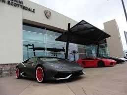 lamborghini car dealerships lamborghini dealership to penske racing museum scottsdale az
