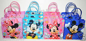 candy bags mickey minnie mouse loot goody bags party favors gifts disney candy