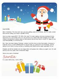 letters from santa free letters from santa santa letters to print at home gifts