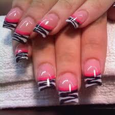 best 20 zebra acrylic nails ideas on pinterest zebra nails