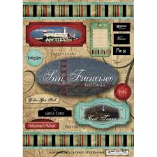 California Travel Stickers images Scrapbook customs united states collection california jpg