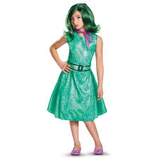 party city elsa halloween costume disney inside out classic girls disgust costume buycostumes com