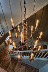 Farmhouse Lighting Chandelier by 430 Best Colonial And Primitive Lighting Candles Images On