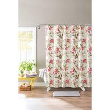 Botanical Shower Curtains Better Homes And Gardens Multi Color Floral Springtime Botanical