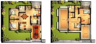 floor plan house design pretentious house design with floor plan philippines modern designs