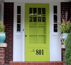 Curb Appeal Usa - front door number decal u2022 by decor designs decals street number on yo