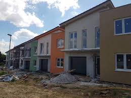 sale 5 roomed rowhouses with the garage and the plot nitra