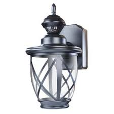 Outdoor Wall Sconce With Motion Sensor Photocell Included Outdoor Wall Lighting You U0027ll Love Wayfair