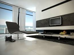 Led Tv Wall Table Ultra Modern Living Room Decor With Led Tv Mount On The Wall Faced