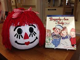raggedy ann character pumpkin pumpkin contest pinterest