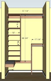 diy small closet organizer plans diy pinterest small closets