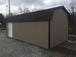 2017 alpine structures barnstyle garage in bentleyville pa reds