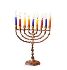 chanuka candles hanukkah background with menorah burning candles